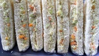 वज कलब सडवच घर प कस बनय  veg club sandwich recipe