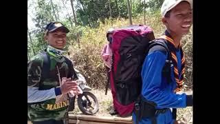 Perjalanan Menempuh Wing Tapak Merah Pramuka SMKN Bantarkalong 25 KM dalam 10 Jam.