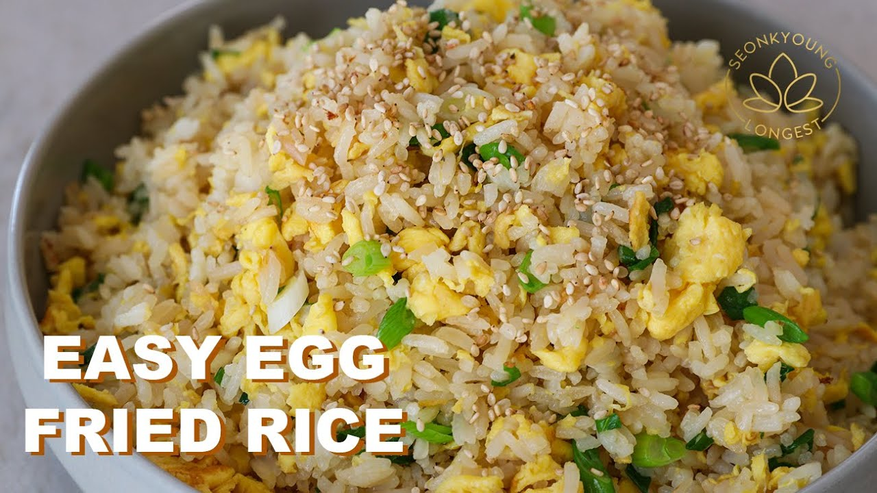 8 Minutes EASY Egg Fried Rice