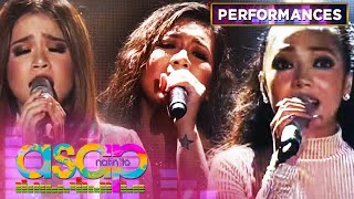 Angeline, Jona & Klarisse in a powerful perfomance of 'Patuloy Ang Pangarap' | ASAP Natin 'To