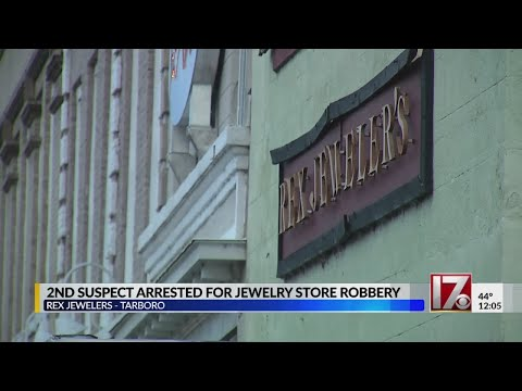 2 brothers now charged in Tarboro jewelry store robbery