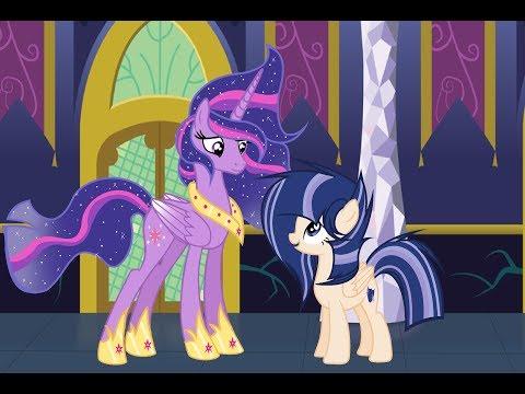 mlp base speedpaint princess twilight sparkle and shining heart