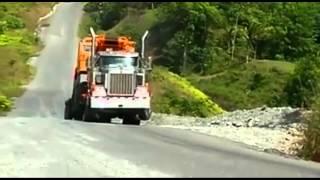 Truck pulls wheelie, amazing power