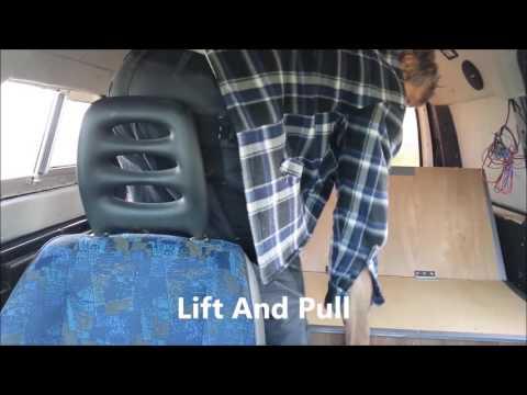 Bed Seat Storage