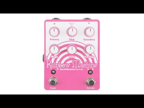 EarthQuaker Devices Rainbow Machine v2 Guitar Demo