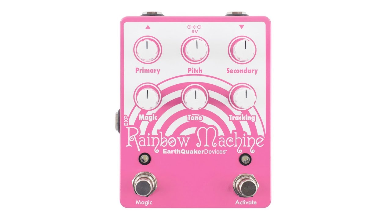 EarthQuaker Devices Rainbow Machine V2 Polyphonic Pitch