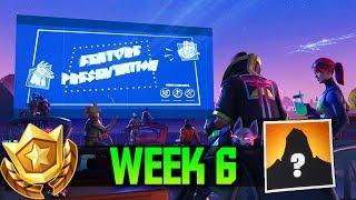 Week 6 FREE Battle Pass Tier in Fortnite (Secret Road Trip Battle Star #6)