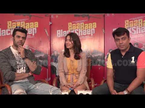 Interview With Manish Paul, Manjari Phadnis & Director Vishwaas Paandya For Film Baa Baaa Black Shee