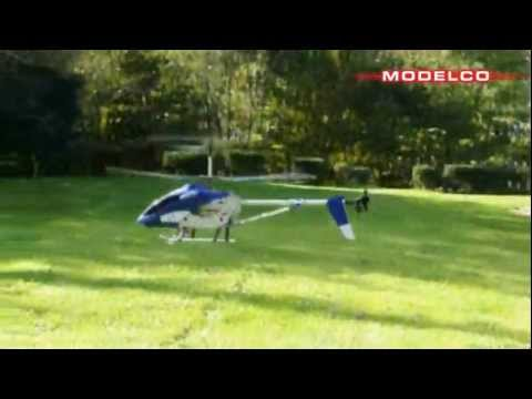 Modelco h licopt re h platinium xl rc 3 voies youtube for Helicoptere rc exterieur