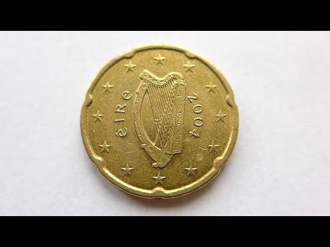 20 Euro Cent Coin :: Ireland 2004