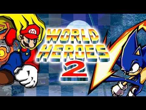 World Heroes 2 (NES pirate) - Walkthrough as Sonic