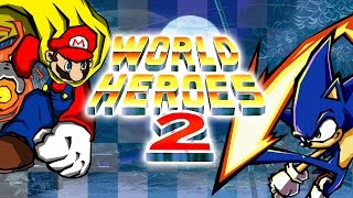 World Heroes 2 (NES pirate) - Walkthrough as Sonic