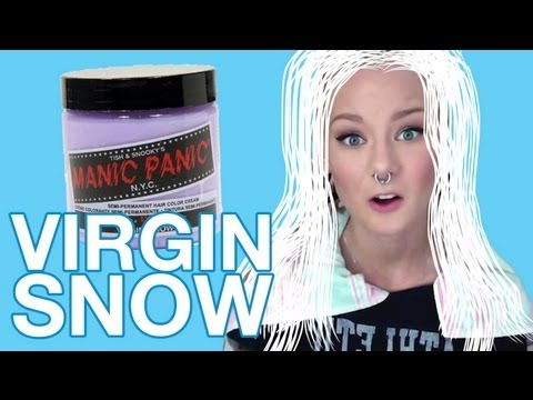 Review Manic Panic Virgin Snow Katrin Berndt Youtube
