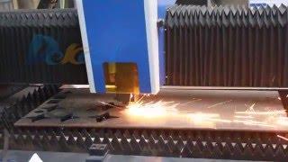 Dekcel cnc 1000w fiber laser cutter  for 10mm carbon steel