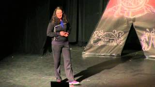 Story of a tennis player: Kim Grant at TEDxGunnHighSchool