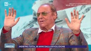 Intervista a Renzo Arbore (Seconda parte) - La vita in diretta 13/12/2017