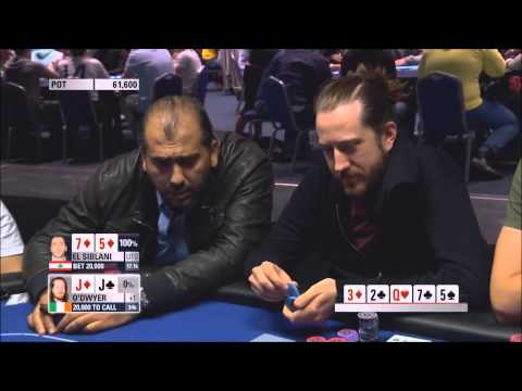 EL SIBLANI Goes Undercover! - EL SIBLANI vs ODWYER - EPT 10 Grand Final - Poker Highlight