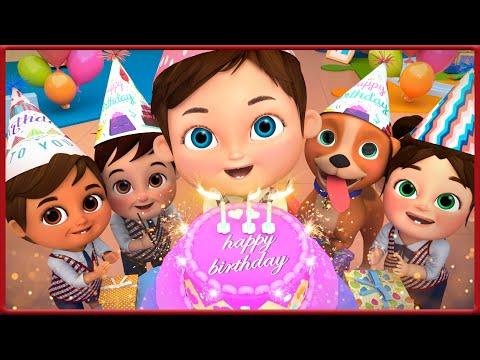🔴 Baby Shark , Happy Birthday Song , 🎂 Super Birthday Cake! 🎂 Wheels on the Bus  - Banana Cartoon