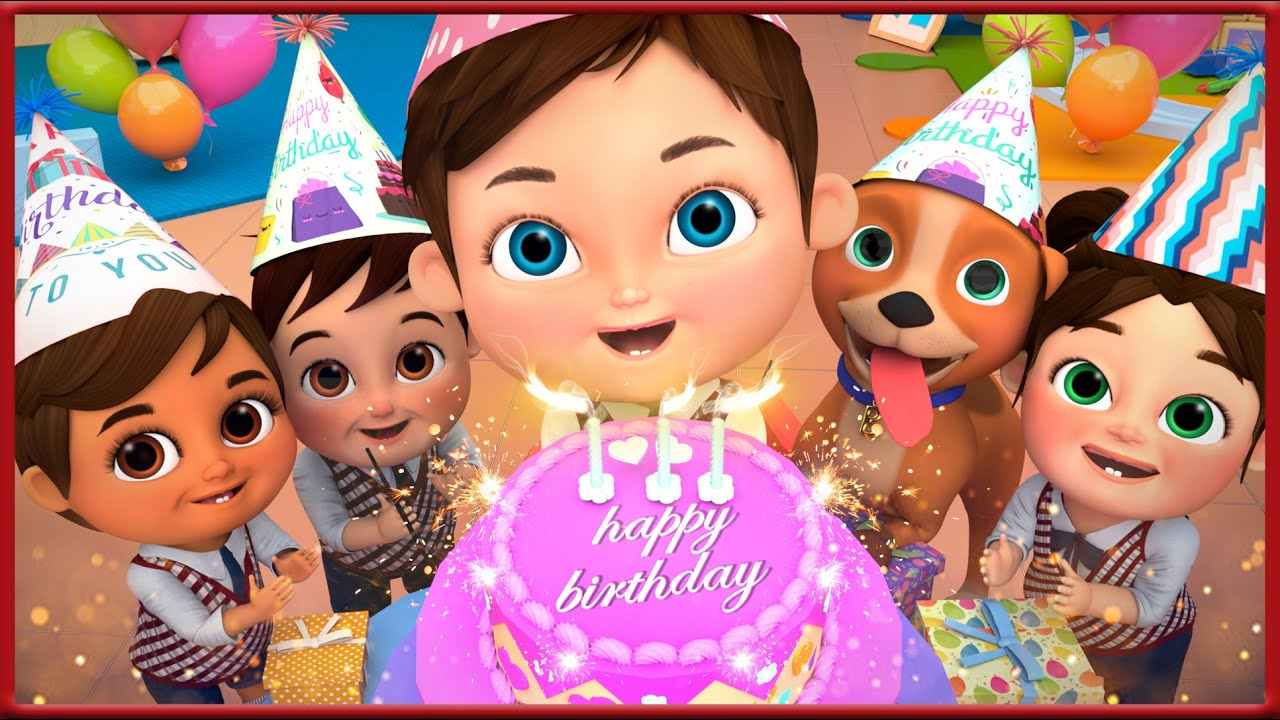 Happy Birthday Song Kids Party Songs Nursery Rhymes Best Birthday Wishes Songs Collections Hd Youtube