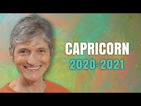 CAPRICORN 2020 - 2021 Astrology Annual Horoscope Forecast