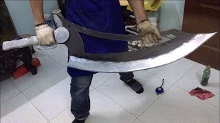 Making knife giant | Restoration function use Old metal | Knife making beautiful