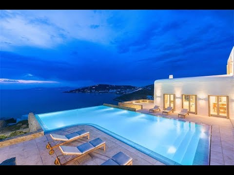 Ultra Sophisticated Home with Breathtaking Sea Views in Mykonos, Greece