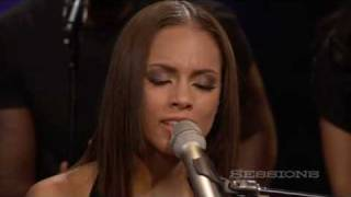 Download Alicia Keys - Empire State Of Mind (Part II) Broken Down LIVE @ AOL Sessions Mp3 and Videos