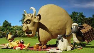 Барашек Шон серия 100 - Бык против шерсти / Shaun the Sheep - Bull Vs Wool (HD)