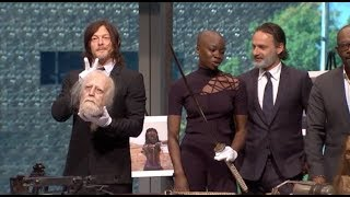 THE WALKING DEAD Smithsonian interviews - Andrew Lincoln, Reedus, Danai Gurira, James, Gimple