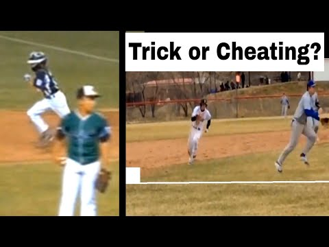 Trick plays in baseball 2 of 4