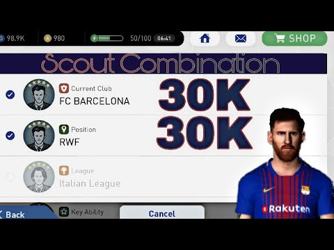 PES 2019 Mobile - How to get Lionel Messi?