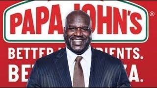 Shaq joins Papa John's!
