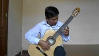 Quảng Bình quê ta ơi- Nguyễn Huy Giáp- Guitar solo