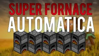 Come fare la SUPER FORNACE AUTOMATICA!! - Tutorial Minecraft ITA