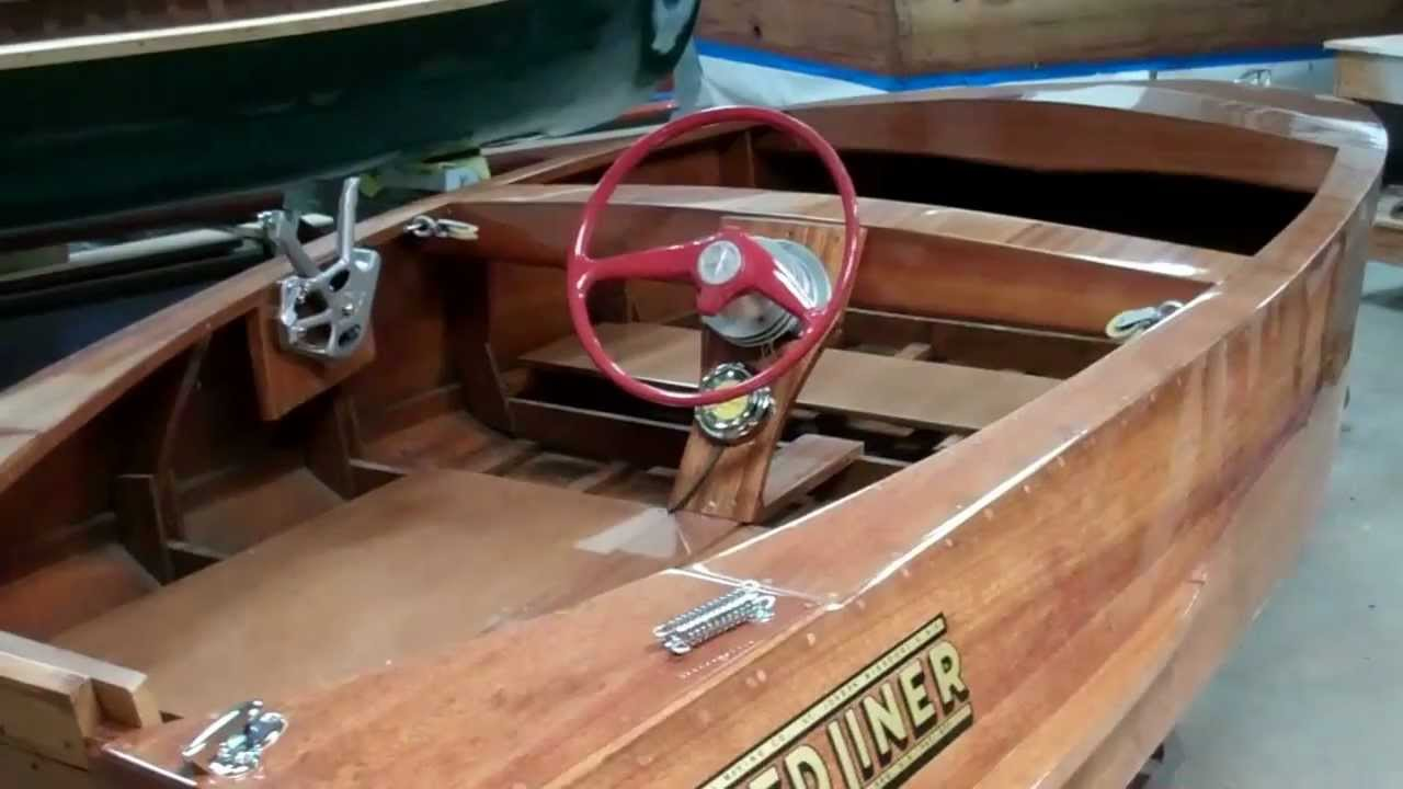 Pics of a 13' Speedliner h/w. Is this beautiful boat worth restoring ...