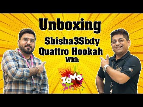 UNBOXING SHISHA3SIXTY QUATTRO