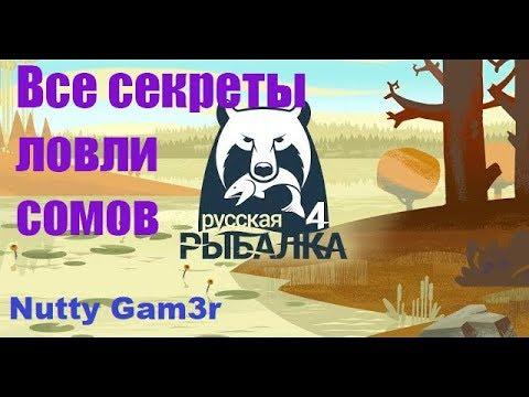 Русская Рыбалка 4 - Как, где и чем ловить самых больших сомов...