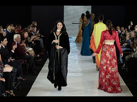 Safae Ibrahimi Design Rabat Morocco at PNYCFW FEBRUARY 16 2017