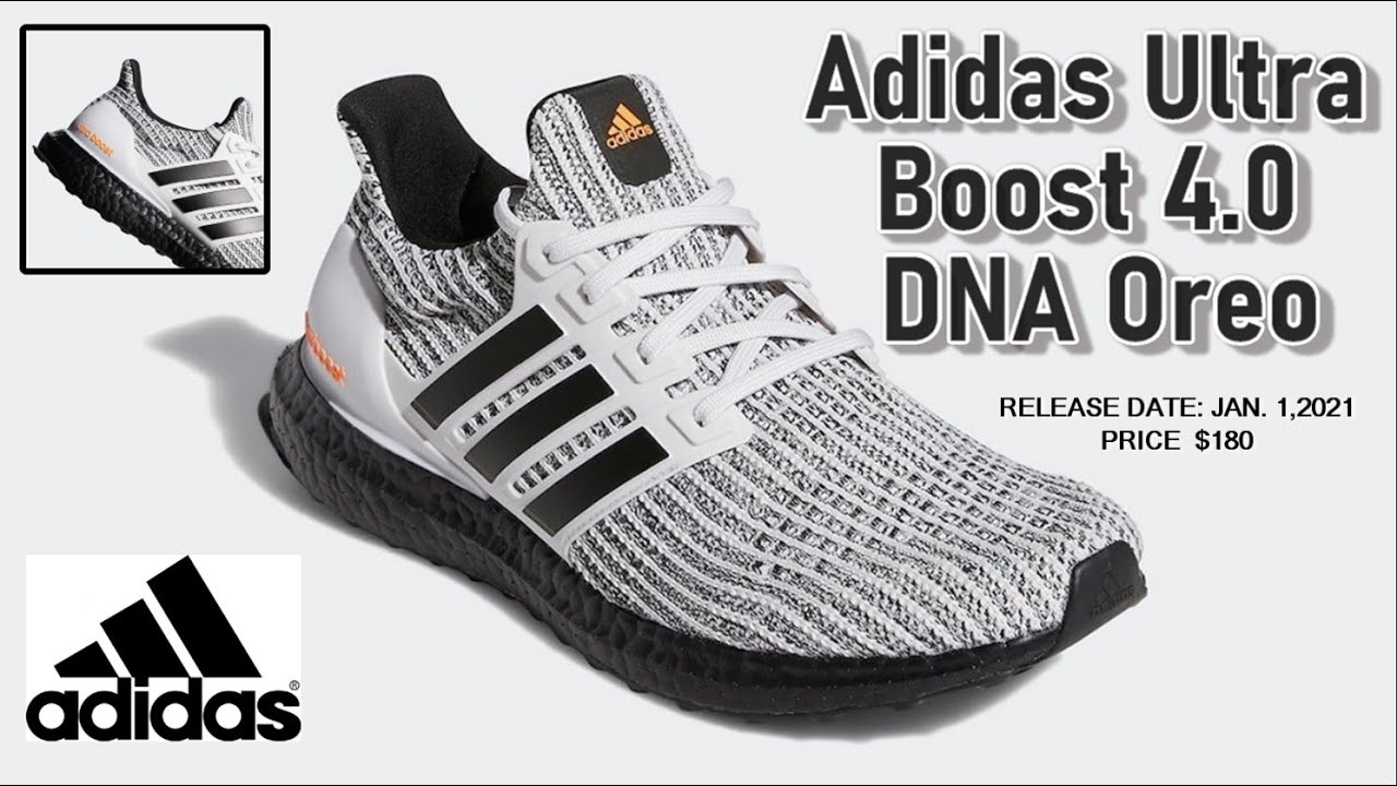 Adidas Ultra Boost 4.0 DNA Oreo - DETAILED LOOK