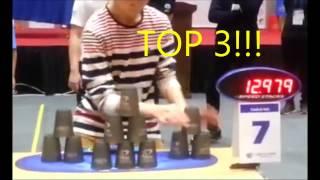 Sport Stacking:Top 10 in Korea
