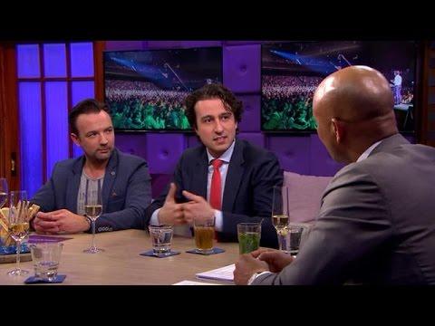 Jesse Klaver ontmoet briefschrijver Romano - RTL LATE NIGHT
