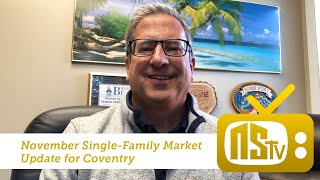 NSTV | November Real Estate Market Stats | Coventry, Rhode Island | Nick Slocum Team