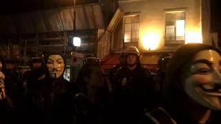 anonymous bastille face aux CRS 2 Mp3