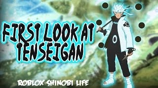 Tenseigan OP? | Lets Talk | Roblox Shinobi Life | iBeMaine