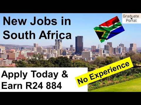Jobs Available in South Africa┃Apply today