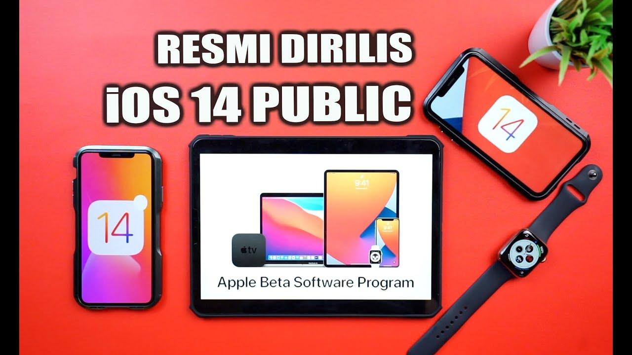 iOS 14 Public Beta sudah Resmi Dirilis! Berikut Cara Instal