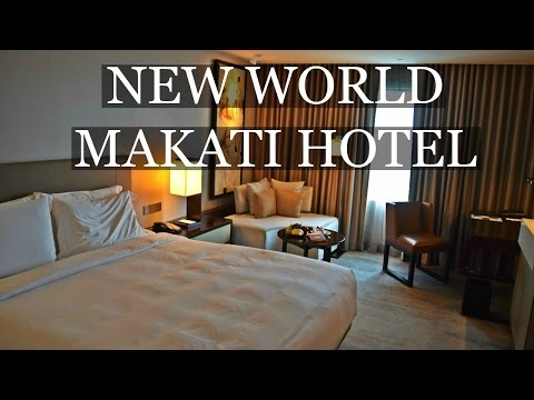 NEW WORLD MAKATI HOTEL, PHILIPPINES 🇵🇭 Daily Travel Vlog 51