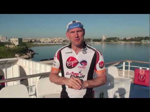 Warren Smith - 26th April 2012 Blog - Cycle Slam day 4 - Italy.mp4