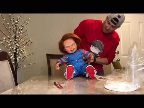 Unboxing My Chucky And Good Guy Doll!!