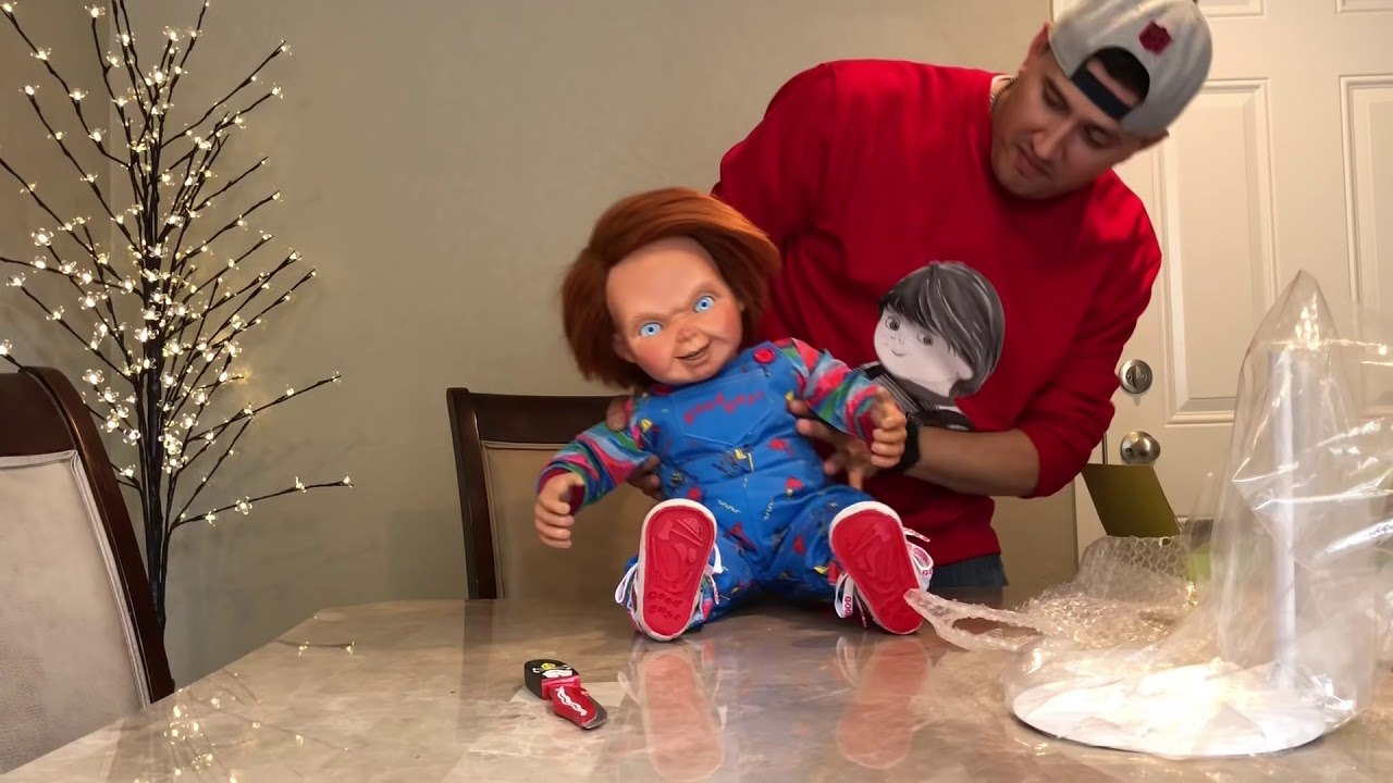 unboxing my chucky and good guy doll youtube